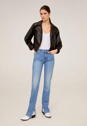 BONNY - Jeans straight leg - blu medio
