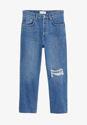 HAVANA - Jeansy Straight Leg - donkerblauw