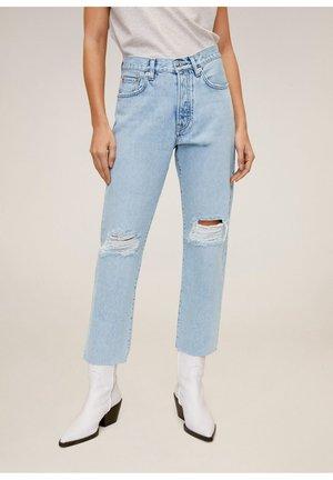 HAVANA - Jeans Straight Leg - middenblauw
