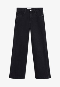 Mango - AUDREY - Flared Jeans - black denim - 5