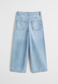Mango - CULOTTES I DENIM - Relaxed fit jeans - hellblau - 1