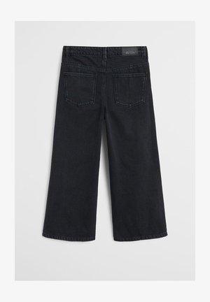 CULOTTES I DENIM - Jeans Relaxed Fit - sort denim