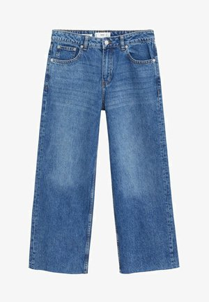CULOTTE - Jean flare - donkerblauw