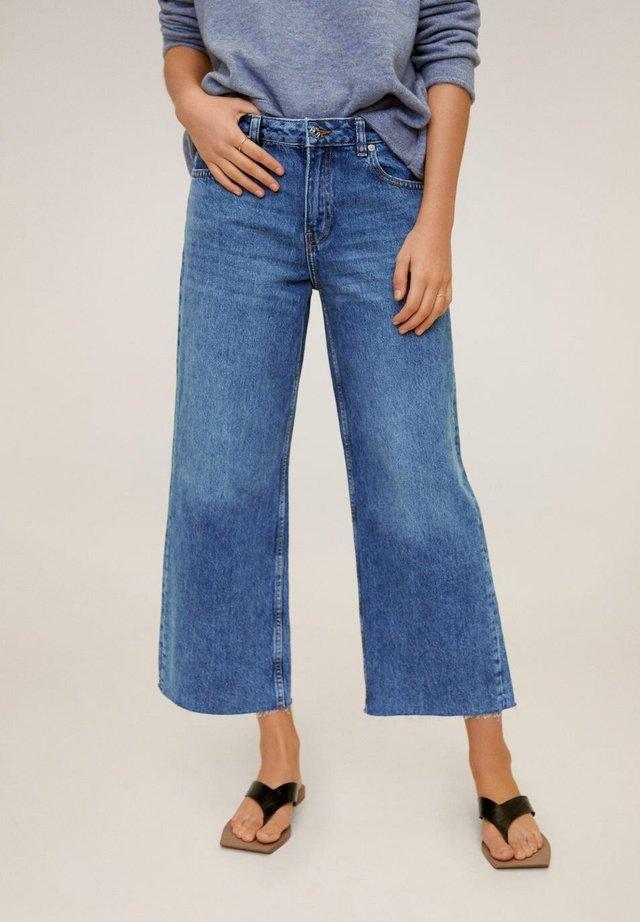 CULOTTE - Jeans a zampa - donkerblauw