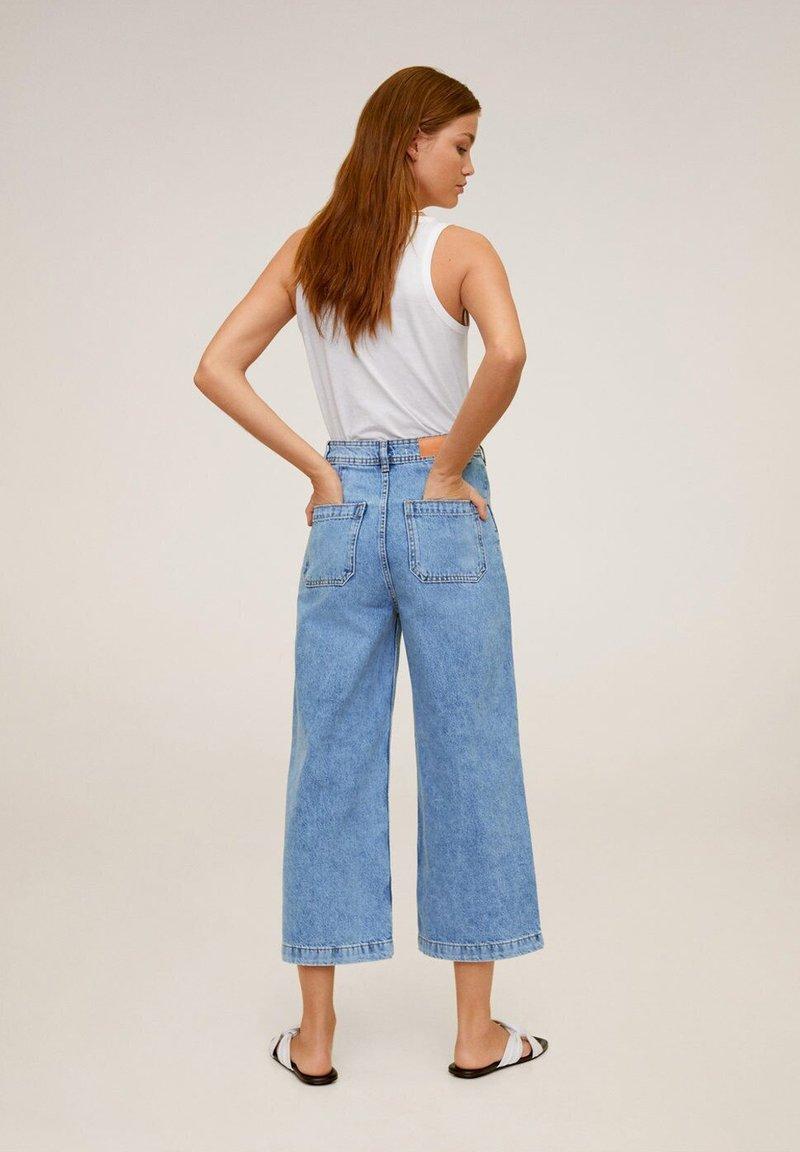 Mango - CARLOTA - Flared Jeans - blue