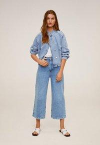 Mango - CARLOTA - Flared Jeans - blue - 2