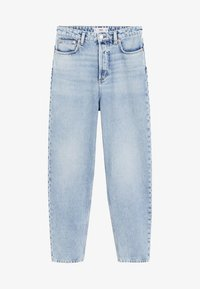 Mango - BALLOON - Jeansy Relaxed Fit - mittelblau - 3