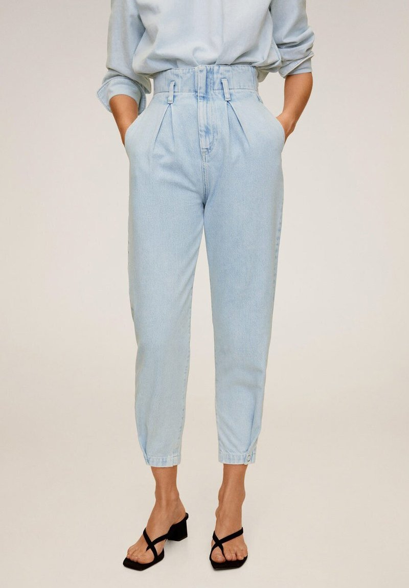 Mango - EDITION - Jeansy Relaxed Fit - Light Blue