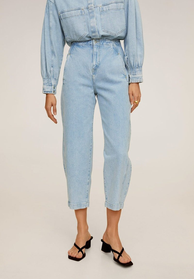 Mango - ALADINA - Jeansy Relaxed Fit - Light Blue