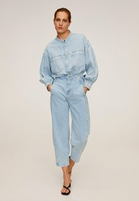 Mango - ALADINA - Jeansy Relaxed Fit - Light Blue - 1