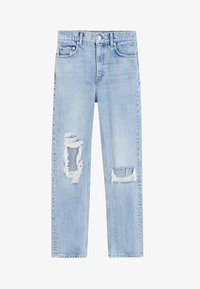 Mango - BROKENS - Straight leg jeans - medium blue - 3