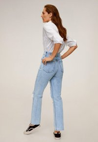 Mango - BROKENS - Straight leg jeans - medium blue - 2
