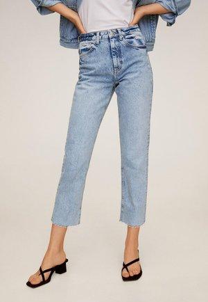 CELIA - Straight leg jeans - hellblau