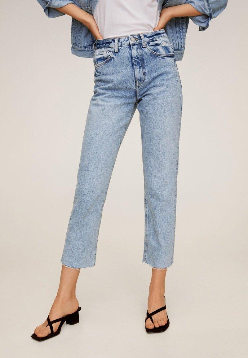 Mango - CELIA - Straight leg jeans - hellblau