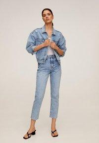 Mango - CELIA - Straight leg jeans - hellblau - 1