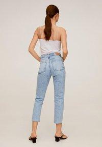 Mango - CELIA - Straight leg jeans - hellblau - 2