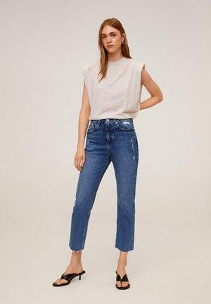 CELIA - Slim fit jeans - mittelblau
