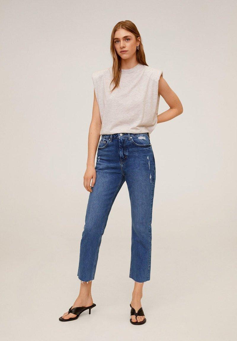 Mango - CELIA - Slim fit jeans - mittelblau