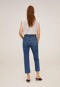 Mango - CELIA - Slim fit jeans - mittelblau - 1