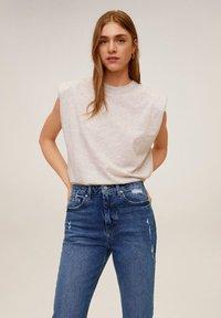 Mango - CELIA - Slim fit jeans - mittelblau - 2