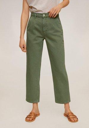 CHINO - Jean droit - grün