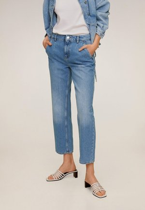 CHINO - Jeans Straight Leg - mittelblau