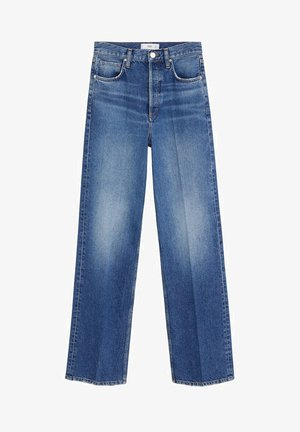 VALERIA - Flared Jeans - dunkelblau