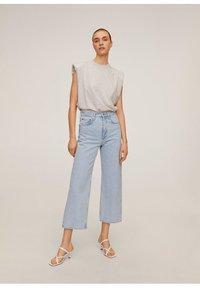 Mango - GABRIELA - Jeansy Straight Leg - mittelblau - 1