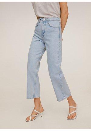 GABRIELA - Jeans Straight Leg - mittelblau