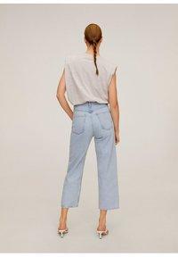 Mango - GABRIELA - Jeansy Straight Leg - mittelblau - 2