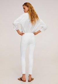 Mango - ISA - Jeans Skinny - white - 2