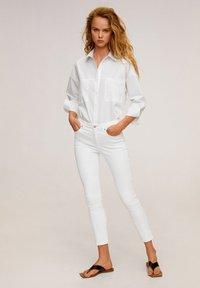 Mango - ISA - Jeans Skinny - white - 1