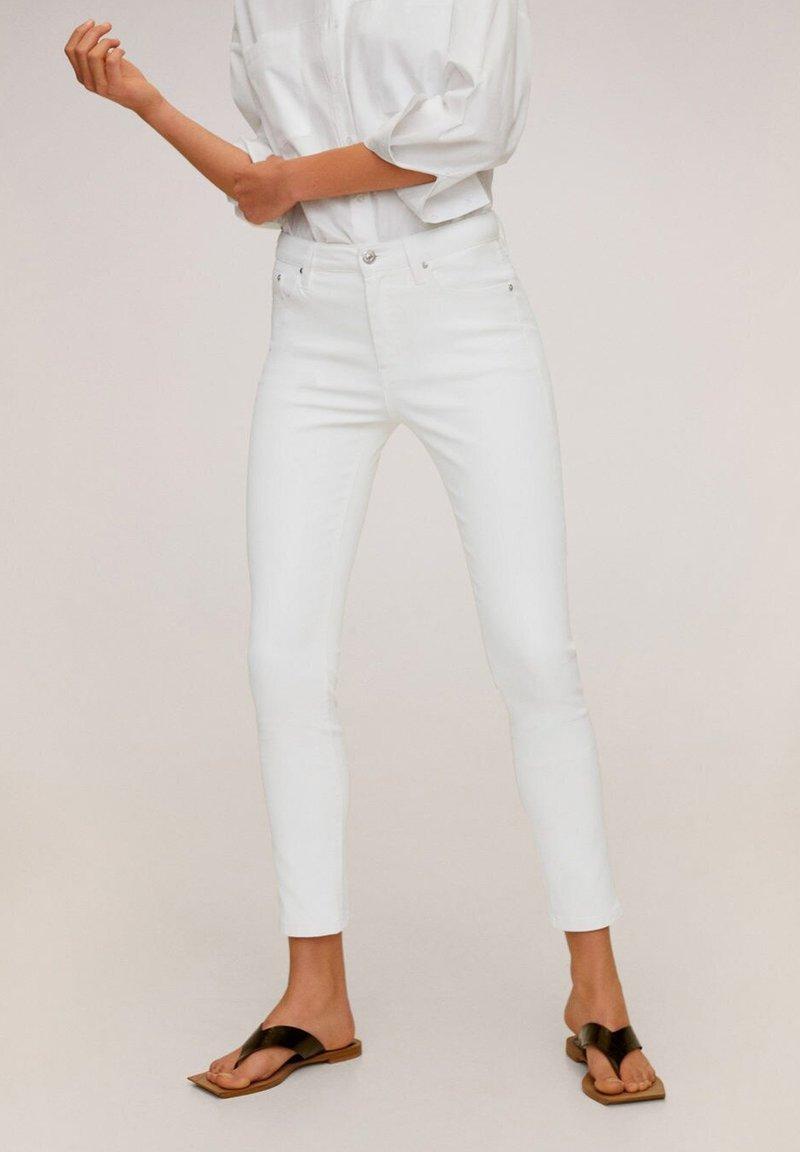 Mango - ISA - Jeans Skinny - white