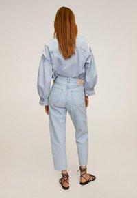 Mango - VILLAGE - Jeans Straight Leg - mittelblau - 2