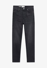 Mango - GISELE - Jean slim - black denim - 3