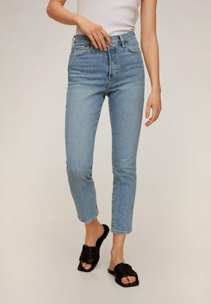 GISELE - Slim fit jeans - middenblauw
