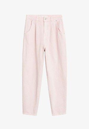 REGINA - Straight leg jeans - rosa