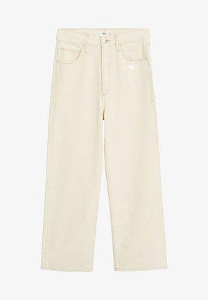 GABRIELA - Straight leg jeans - ecru