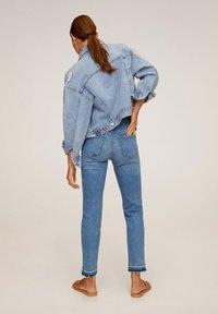 Mango - GRACE - Jeans Straight Leg - bleu moyen - 2
