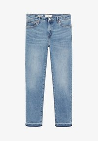 Mango - GRACE - Jeans Straight Leg - bleu moyen - 3