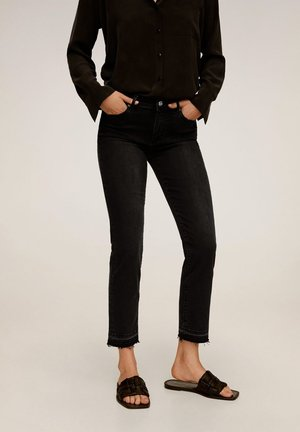GRACE - Jeans Slim Fit - black denim