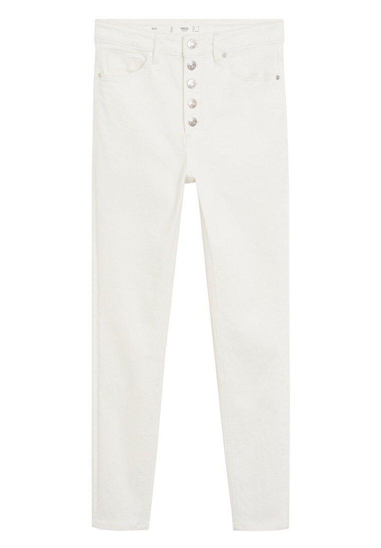 Mango Noa - Jeans Skinny Fit Bianco