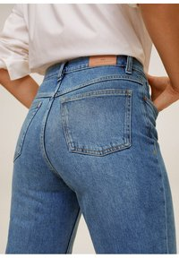 Mango - Relaxed fit jeans - mittelblau - 3