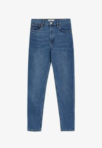 Mango - Relaxed fit jeans - mittelblau - 5