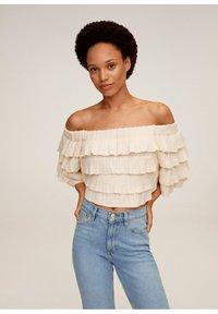 Mango - NEWMOM - Slim fit jeans - hellblau - 4