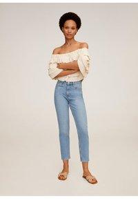 Mango - NEWMOM - Slim fit jeans - hellblau - 1