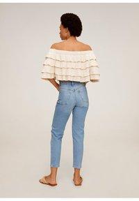 Mango - NEWMOM - Slim fit jeans - hellblau - 2
