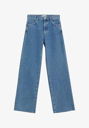 NORA - Flared jeans - bleu moyen