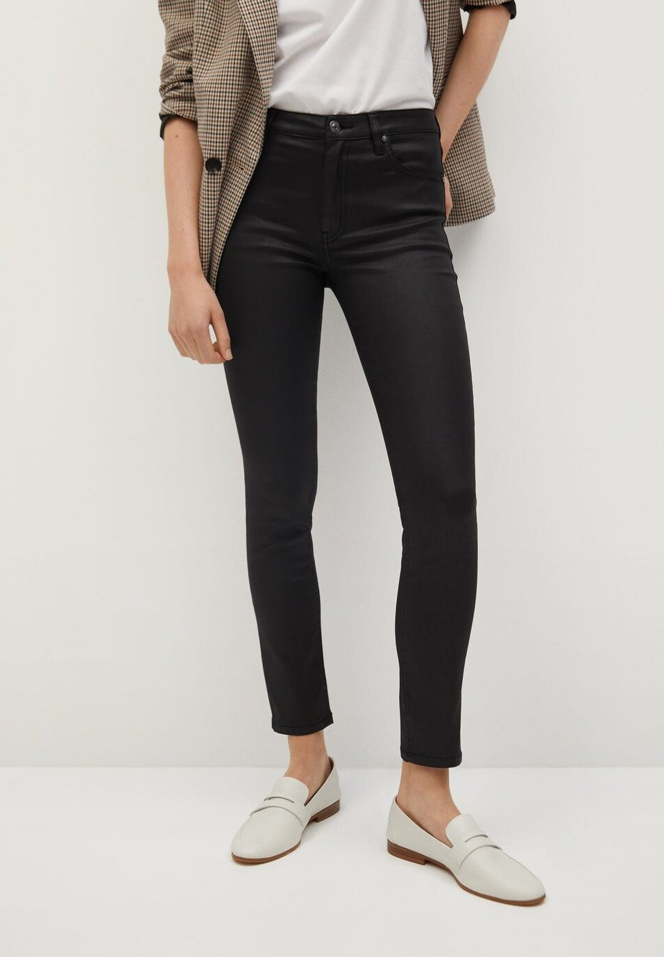 Mango ISA Jeans Skinny black denim ZALANDO.FR