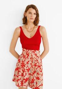 Mango - EVITAP - Shorts - red - 3